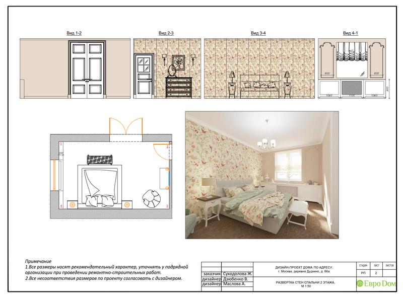 Дизайн интерьера коттеджа 393 кв. м в английском стиле. Фото 077