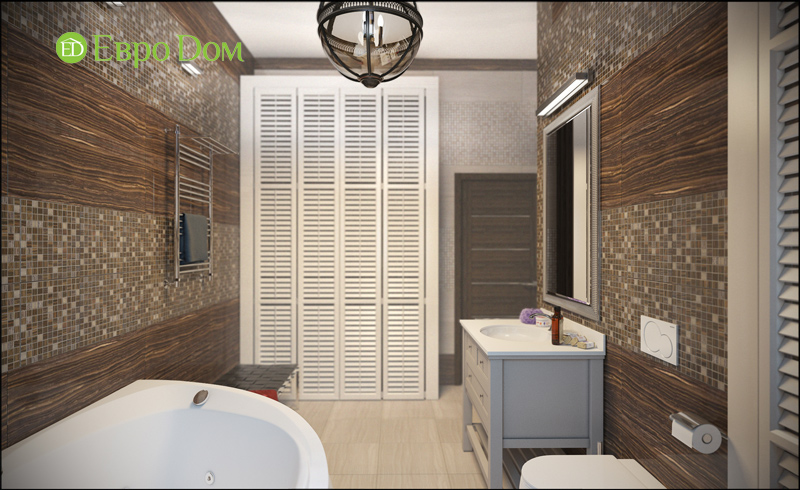 Дизайн интерьера коттеджа в современном стиле. Фото 012