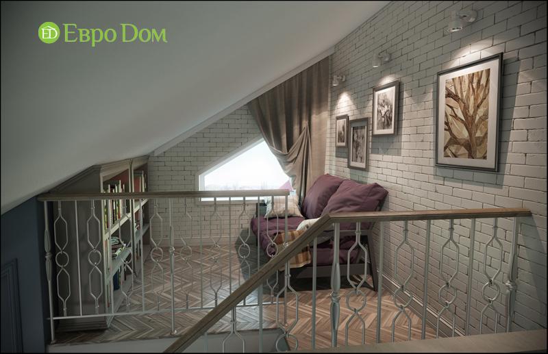Дизайн интерьера коттеджа в современном стиле. Фото 022