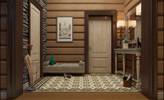 Дизайн интерьера коттеджа 208 кв.м. по адресу МО, Ногинский район, д. Ельня. Фото 2