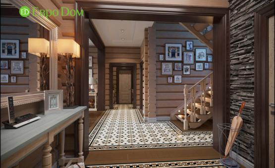 Дизайн интерьера коттеджа 208 кв.м. по адресу МО, Ногинский район, д. Ельня. Фото 3