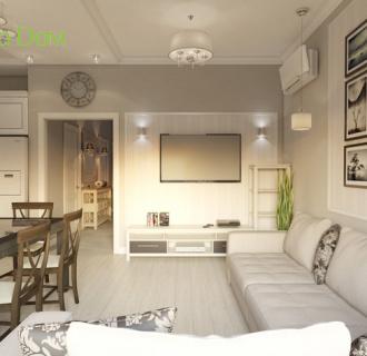 Дизайн интерьера коттеджа 246 кв. м в стиле контемпорари. Фото проекта