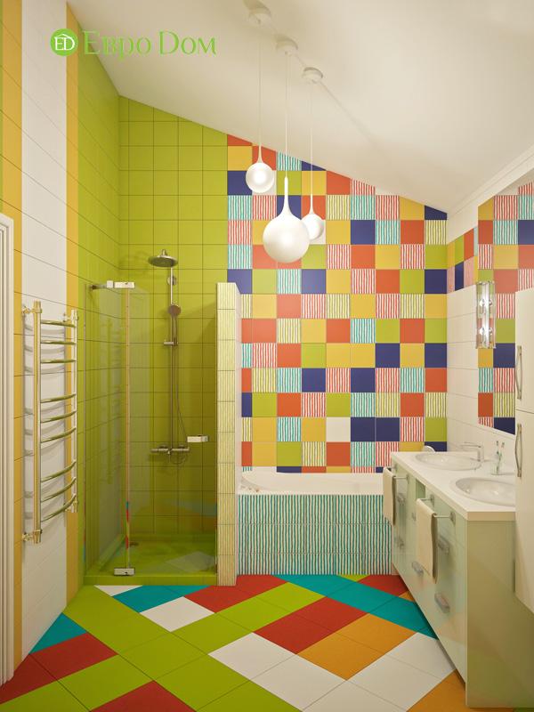 Дизайн интерьера коттеджа в стиле контемпорари. Фото 07