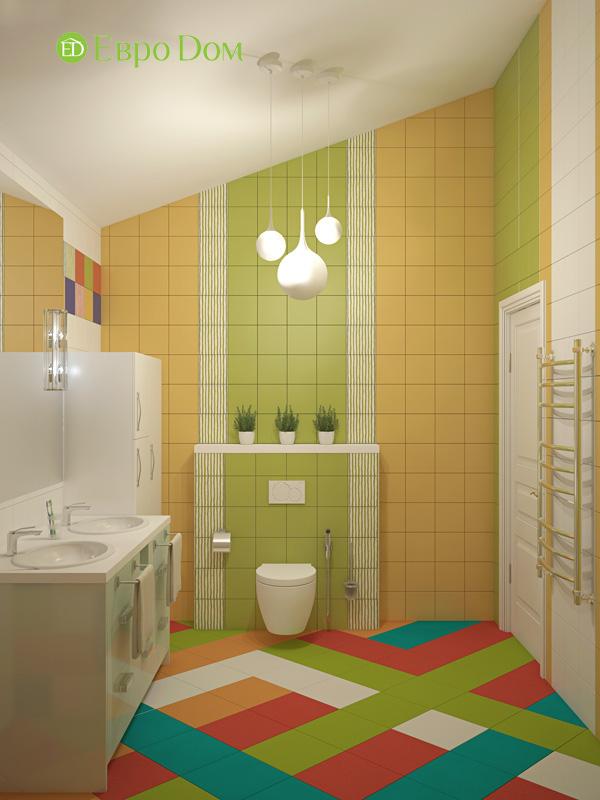 Дизайн интерьера коттеджа в стиле контемпорари. Фото 08