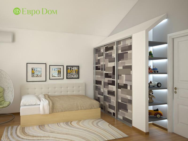 Дизайн интерьера коттеджа в стиле контемпорари. Фото 010