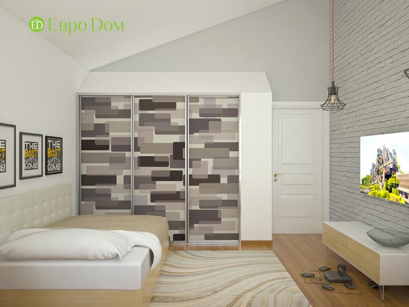Дизайн интерьера коттеджа в стиле контемпорари. Фото 011