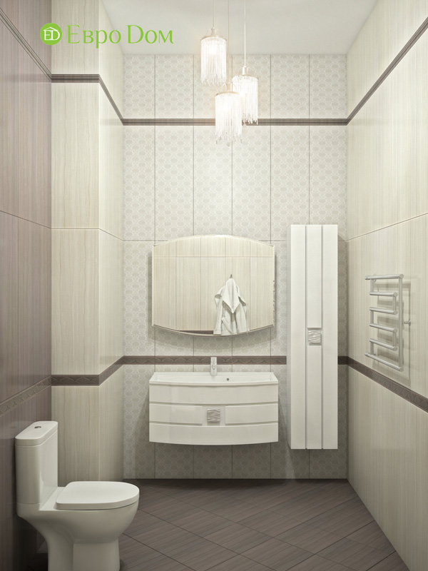 Дизайн интерьера коттеджа в стиле контемпорари. Фото 012