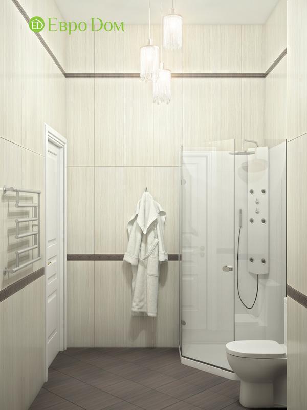 Дизайн интерьера коттеджа в стиле контемпорари. Фото 013