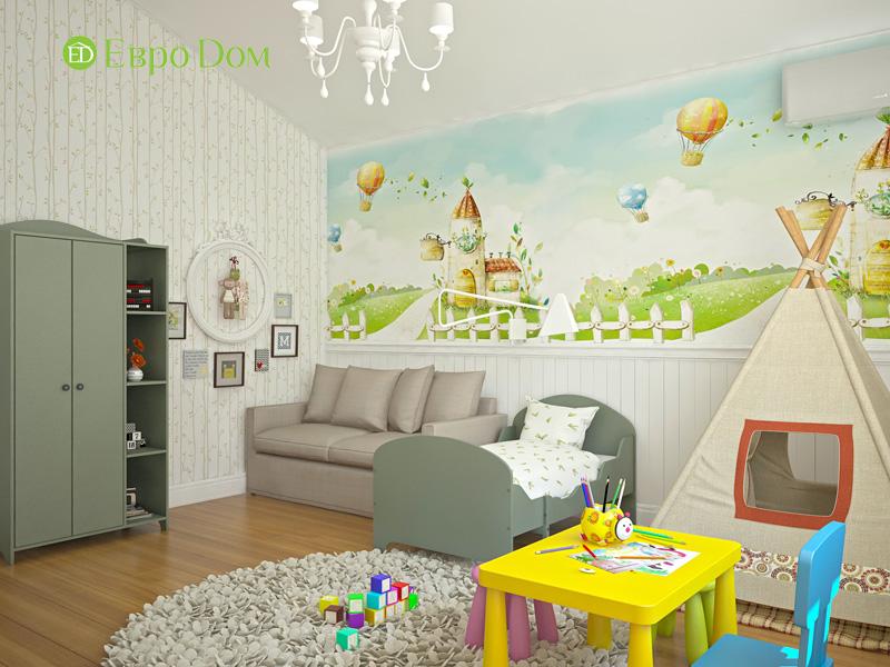 Дизайн интерьера коттеджа в стиле контемпорари. Фото 016