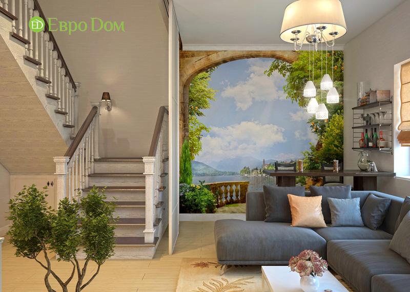 Дизайн интерьера коттеджа в стиле контемпорари. Фото 022