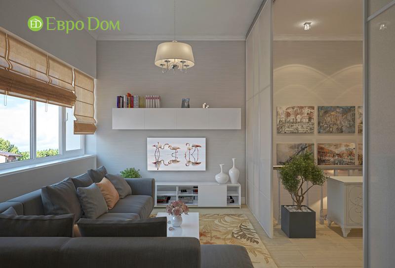 Дизайн интерьера коттеджа в стиле контемпорари. Фото 023