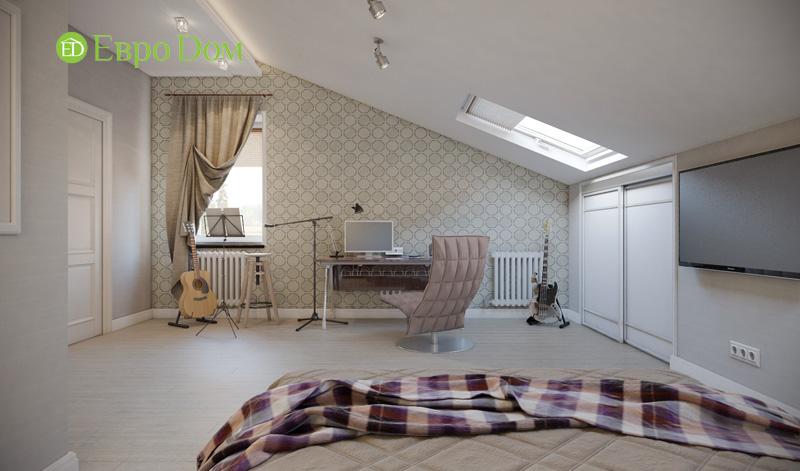 Дизайн интерьера коттеджа в стиле контемпорари. Фото 029