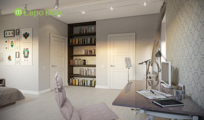 Дизайн интерьера коттеджа в стиле контемпорари. Фото 030