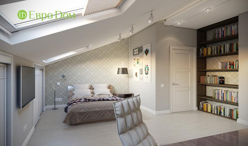 Дизайн интерьера коттеджа в стиле контемпорари. Фото 031