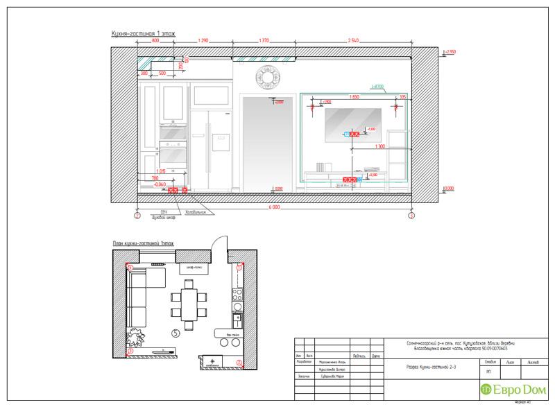 Дизайн интерьера коттеджа в стиле контемпорари. Фото 049