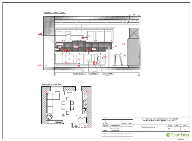 Дизайн интерьера коттеджа в стиле контемпорари. Фото 050