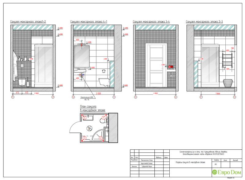 Дизайн интерьера коттеджа в стиле контемпорари. Фото 053