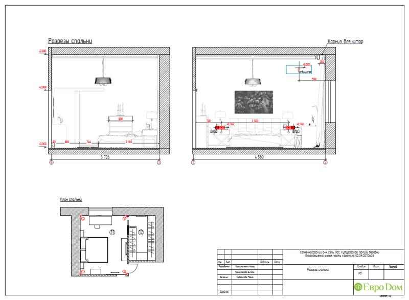 Дизайн интерьера коттеджа в стиле контемпорари. Фото 069