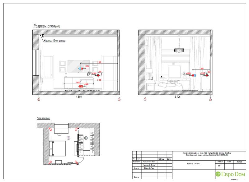 Дизайн интерьера коттеджа в стиле контемпорари. Фото 070