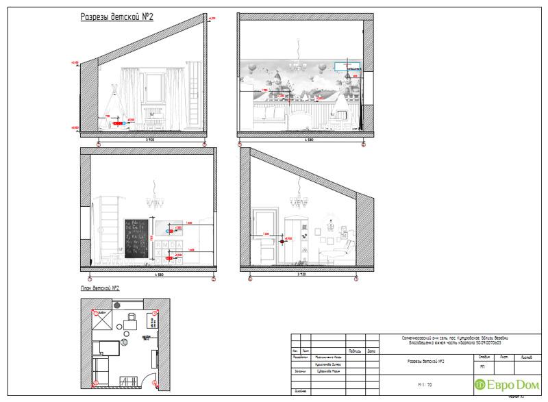 Дизайн интерьера коттеджа в стиле контемпорари. Фото 073