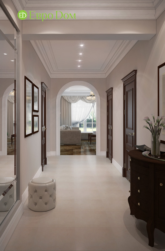 Дизайн интерьера коттеджа 240 кв. м в стиле модерн. Фото 04