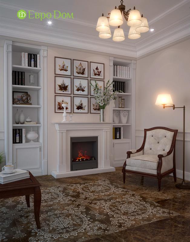 Дизайн интерьера коттеджа 240 кв. м в стиле модерн. Фото 06