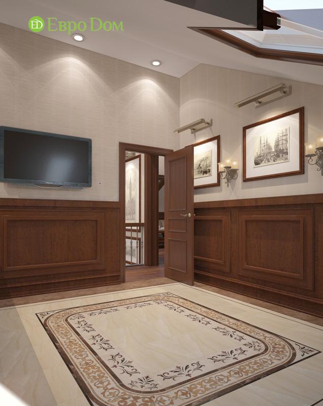 Дизайн интерьера коттеджа 240 кв. м в стиле модерн. Фото 024
