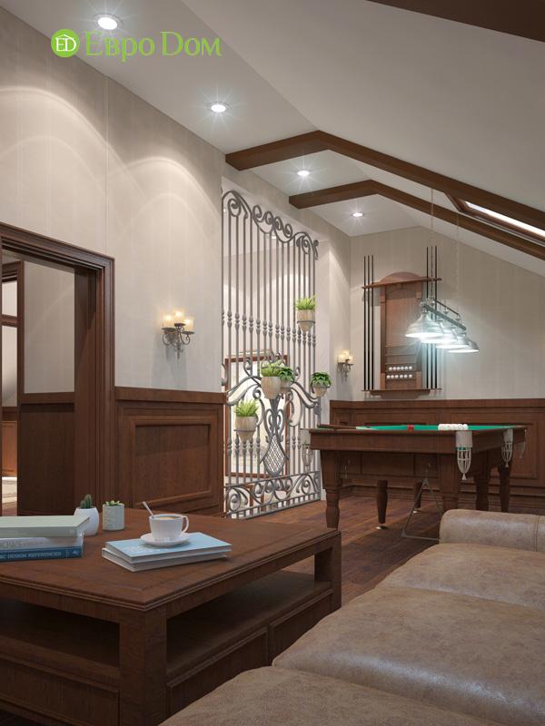 Дизайн интерьера коттеджа 240 кв. м в стиле модерн. Фото 025