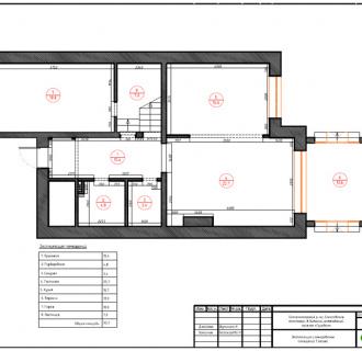 Дизайн интерьера коттеджа 240 кв. м в стиле модерн. Фото проекта