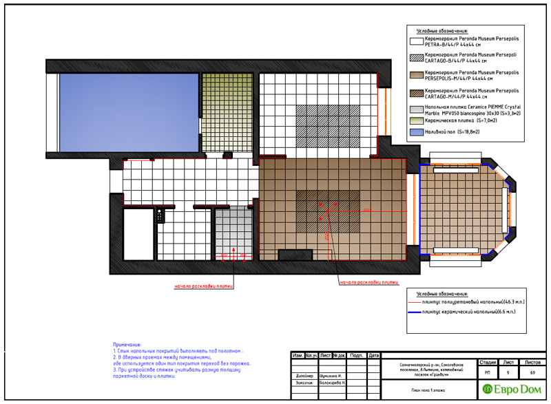 Дизайн интерьера коттеджа 240 кв. м в стиле модерн. Фото 037