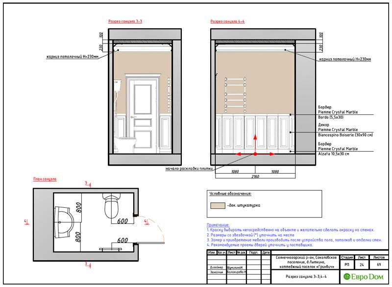Дизайн интерьера коттеджа 240 кв. м в стиле модерн. Фото 052
