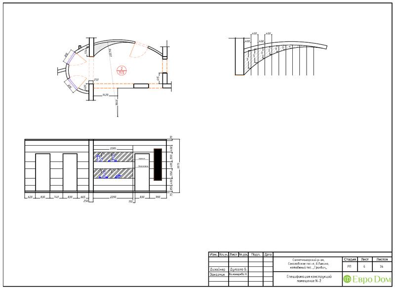 Дизайн интерьера коттеджа 240 кв. м в стиле модерн. Фото 074