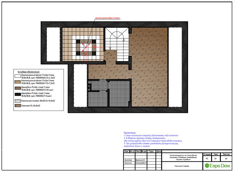 Дизайн интерьера коттеджа 240 кв. м в стиле модерн. Фото 084