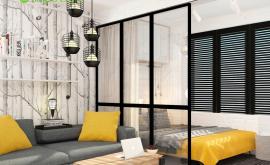 Дизайн интерьера 1-комнатной квартиры 36 кв.м. по адресу г. Москва, Варшавское шоссе, д. 50. Фото 4