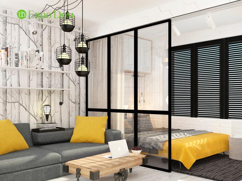 Дизайн квартиры в стиле лофт. Фото 05