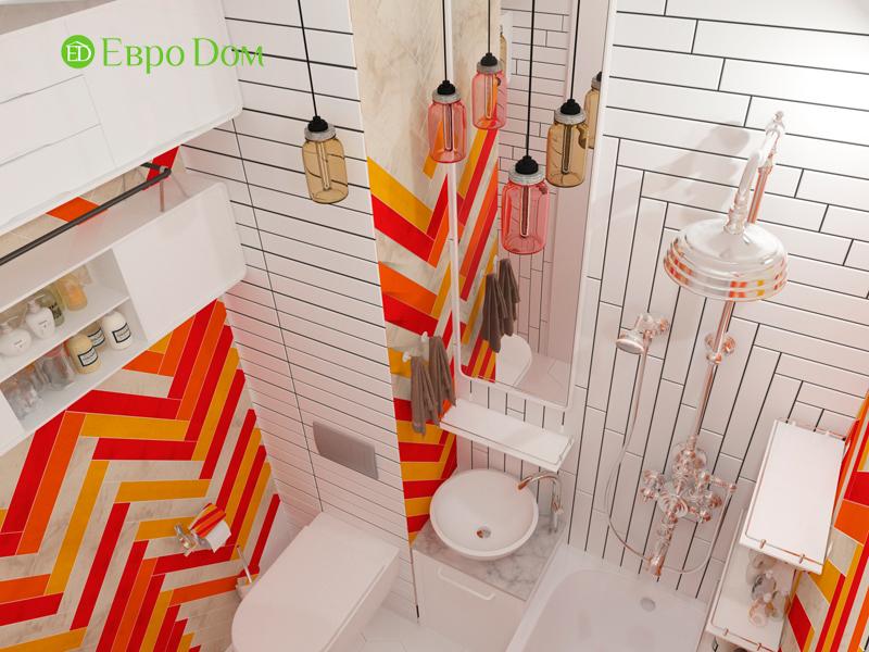 Дизайн квартиры в стиле лофт. Фото 012