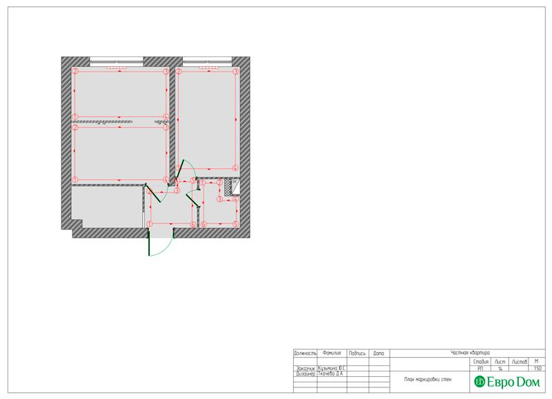 Дизайн квартиры в стиле лофт. Фото 027