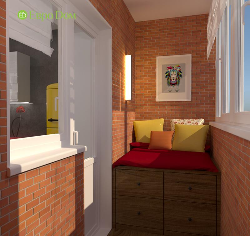 Дизайн квартиры в стиле лофт. Фото 02