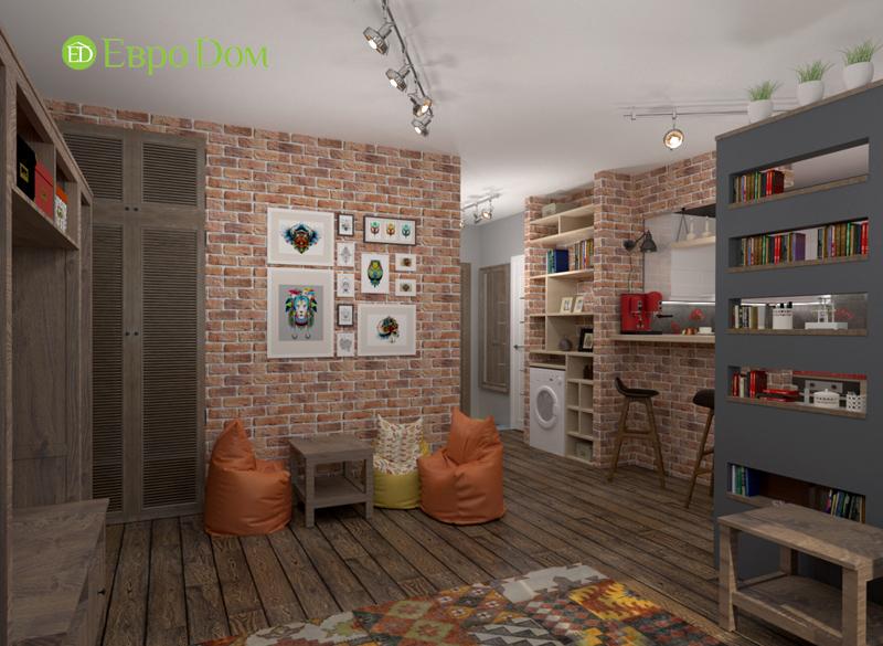 Дизайн квартиры в стиле лофт. Фото 04