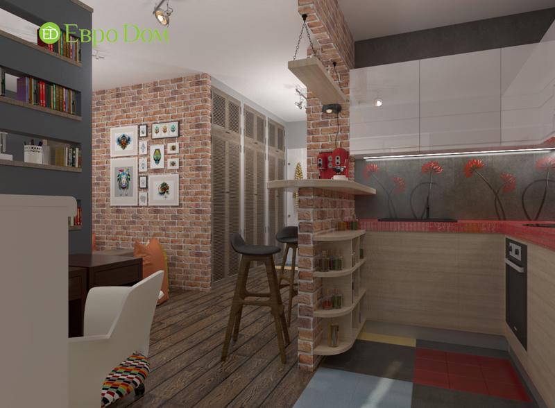 Дизайн квартиры в стиле лофт. Фото 06