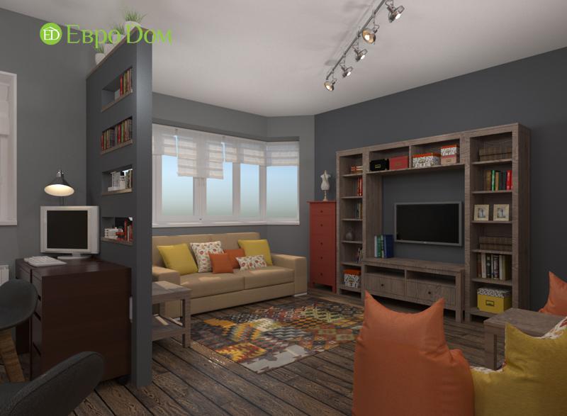 Дизайн квартиры в стиле лофт. Фото 07