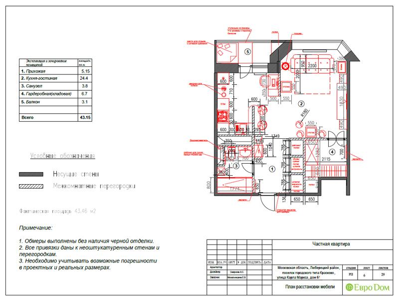 Дизайн квартиры в стиле лофт. Фото 016