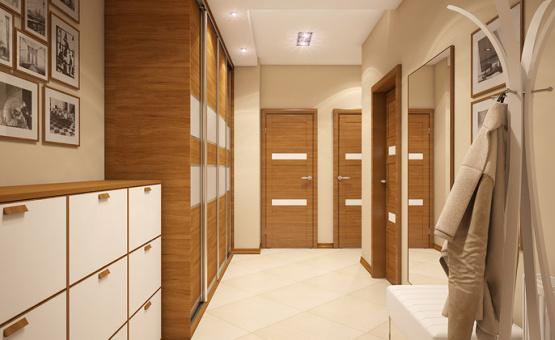 Дизайн интерьера таунхауса 126 кв.м. по адресу МО, г. Химки, ЖК Город Набережных. Фото 1