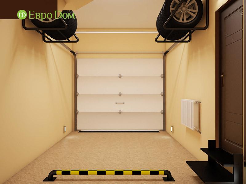 Дизайн интерьера таунхауса 126 кв. м в современном стиле. Фото 010