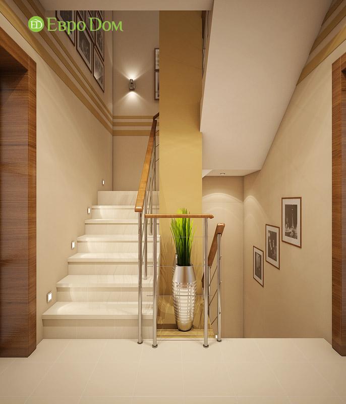Дизайн интерьера таунхауса 126 кв. м в современном стиле. Фото 012