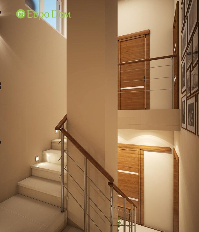 Дизайн интерьера таунхауса 126 кв. м в современном стиле. Фото 013
