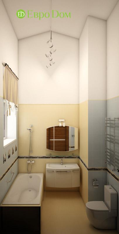 Дизайн интерьера таунхауса 126 кв. м в современном стиле. Фото 014