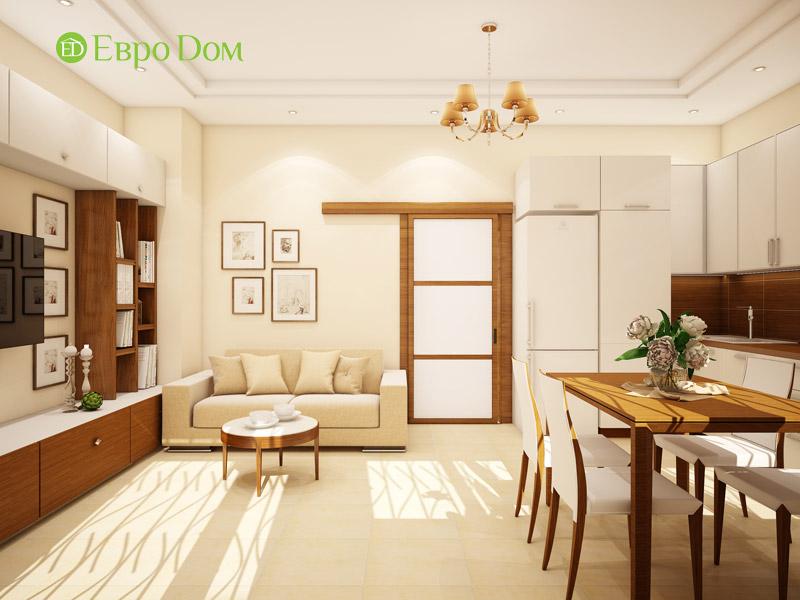 Дизайн интерьера таунхауса 126 кв. м в современном стиле. Фото 023