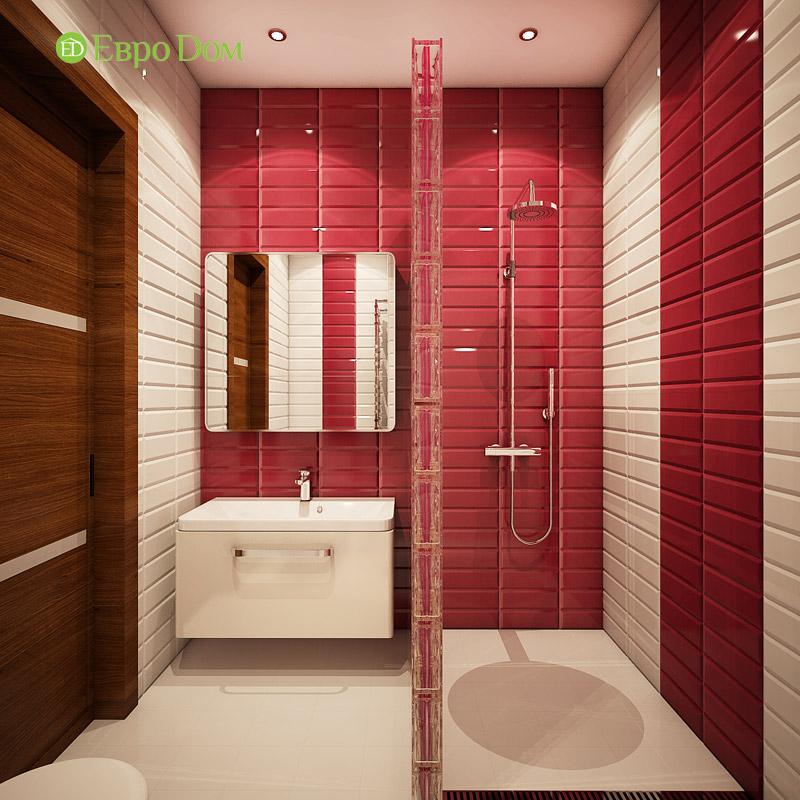 Дизайн интерьера таунхауса 126 кв. м в современном стиле. Фото 025