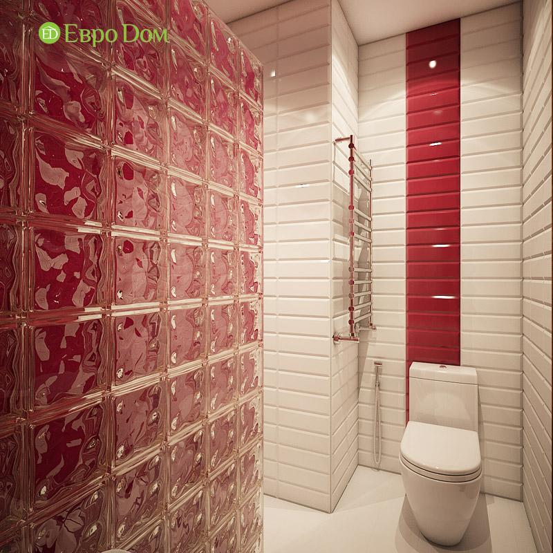 Дизайн интерьера таунхауса 126 кв. м в современном стиле. Фото 026